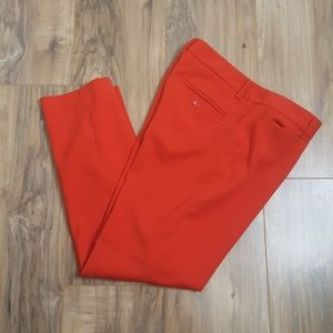 Gap Orange Slim Crop Pants